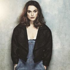 """For the photographs for the new Coco Mademoiselle campaign she wore a Chanel jacket with her own dungarees. """"I love dungarees. I'm a massiv..."""