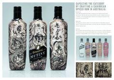 Resultado de imagen de rum packaging