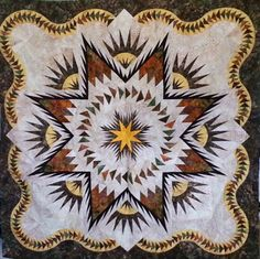 Glacier Star, Quiltworx.com, Made by Linda Spector, Taught by CI Jackie Kunkel