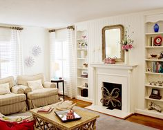 Like the light, airy feel of this room.