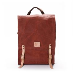 WILL LEATHER GOODS / Wax Coated Canvas Backpack