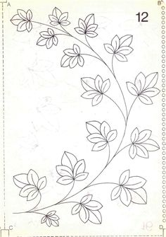 Crewel Embroidery, Hand Embroidery Patterns, Vintage Embroidery, Beaded Embroidery, Beading Patterns, Quilt Patterns, Machine Embroidery, Painting Patterns, Fabric Painting