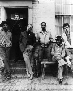 """chaboneobaiarroyoallende:  from Birmingham, England…THE ENGLISH BEAT   """