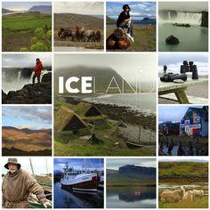 Iceland. Photo tiles mosaic. ANIA W PODRÓŻY travel blog and photography