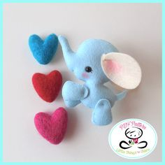 BABY ELEPHANT (PDF) This adorable ELEPHANT is part of my new mini collection of Wild Animals, he is just perfect to be part of a cute baby mobile or as a present for someone special. As always quick, easy and fun to make. This PDF document will give you instructions and patterns to hand-sew a lovely 3.5 inches ELEPHANT. See last picture to meet his friends and get them all! **You will receive an electronic file with pattern and instructions. No physical items will be sent** This PDF…