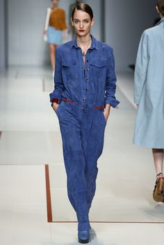 Trussardi Spring 2015 Ready-to-Wear - Collection - Gallery - Look 1 - Style.com