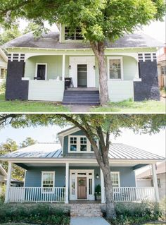 House Renovation Before And After Fixer Upper Magnolia Market 41 Ideas. House Renovation Before And After Fixer Upper Magnolia Market 41 Ideas. Magnolia Fixer Upper, Magnolia Homes, Magnolia Market, Magnolia Farms, Exterior Gris, Exterior Design, Exterior Signage, Exterior Lighting, Home Exterior Makeover