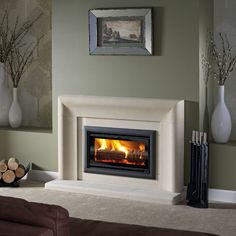 600 bevel ravenna honed fireplace