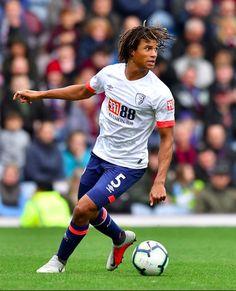 Nathan Aké ~ AFC Bournemouth #5 Afc Bournemouth, Manchester City, Football, Running, Sports, Soccer, Hs Sports, Futbol, Keep Running