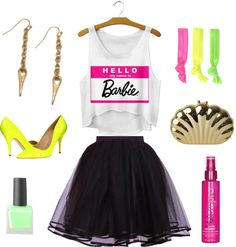 What To Wear To An Eighties Party - Barbie Outfit