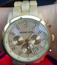 My newest Michael kors watch!