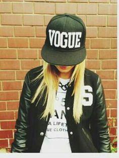 Vogue hat