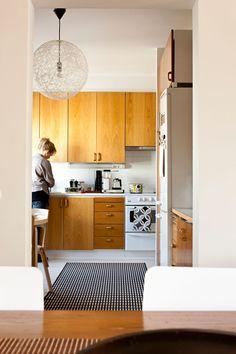 Wooden kitchen, Scandinavian deco