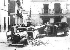 Fotos de la Sevilla julio 1936. Zona de la Macarena.