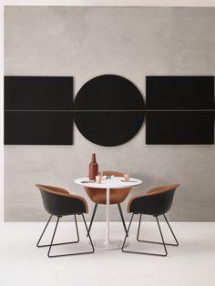 Paneles acústicos decorativos PARENTESIT - Arper