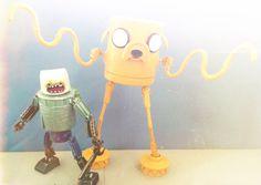Adventure time assemblage robots