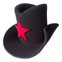 1pz De Sombrero Sheriff Fiestas Bodas Cotillón Y Eventos 49430dc60ca