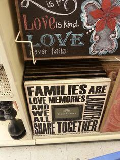 Idea's stolen from Hobby Lobby Hobby Lobby Shop, Family Love, Dyi, Sweet Home, Farmhouse, Craft Ideas, Crafty, Signs, Quotes