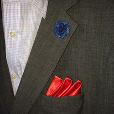 Check out our pocket rounds and lapel flowers! men's lapel flowers men's fashion accessories spring summer 2014 boutinerres