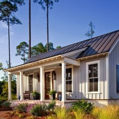 680 square foot Guest Cottage and Interior Design Studio on lakefront property in Palmetto Bluff, Bluffton, South Carolina