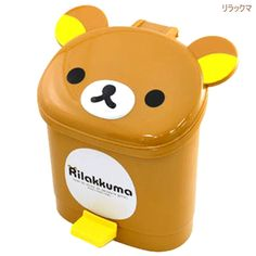 "Rilakkuma ""Rilakkuma""  Cuuute DUST BOX authentic  from JAPAN"