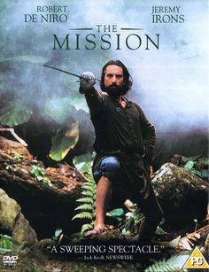 The Mission 1986 | A movie with a haunting soundtrack, brilliant acting, and amazing cinematography. The Mission tells the story of a unique social experiment of the Jesuit Missions in Brasil in the 1700s and how they tried to protect the native Guarani people from Portuguese slavery. There is some strong violence and battle scenes and some mature concepts. Otherwise its a fantastic story of redemption and a unique time in history.