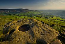 Pots and Pans in Saddleworth - amazing views and fantastic rocks to climb alongside Oldham's War Memorial.