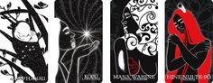 B.WAIPUKAart | Niu | Maori Oracle Cards | Maori | Maori Artist | New Zealand Art | Maori Art | Maori Woman Artist | Maori Female | Wahine | Spiritual