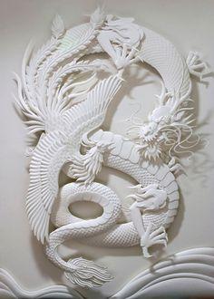 DragonPhoenixy by  Jeff Nishinaka: