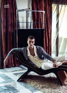 Clement Chabernaud by Alfonso Ohnur for Esquire Spain.