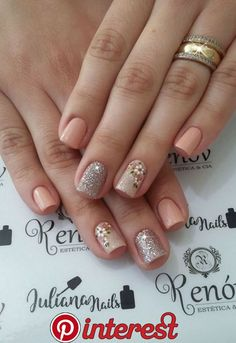 23 Modelos e Fotos de Unhas Decoradas com Flor 23 Modelos e Fotos . Nail Desing esteticista e nail designer Nail Art Hacks, Gel Nail Art, Gel Nails, Fall Acrylic Nails, Acrylic Nail Designs, Gorgeous Nails, Pretty Nails, Stylish Nails, Nagel Gel