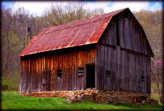 Historic Barns.   I love old barns and sheds.  Love to take black and whites on the ole Cannon.