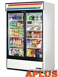 """#True 51"""" Slide Glass Door Merchandiser Refrigerator 78"""" HeightModel: GDM-45The worldÆs #1 manufacturer of glass door merchandisers. Oversized, factory balanced,..."""