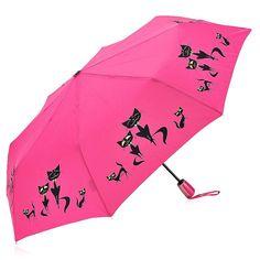 Зонт Doppler Cats малиновый