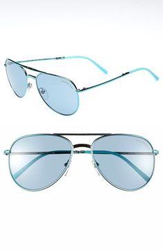 Burberry 'Splash' 57mm Foldable Aviator Sunglasses