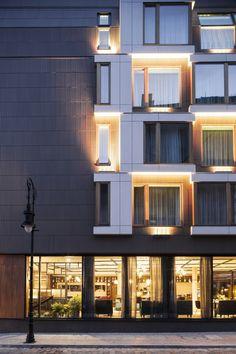 PURO Hotel  / ASW Architekci Ankiersztajn Stankiewicz Wroński