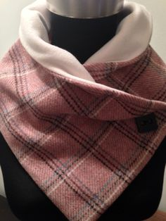 Pure new wool crossover scarf £18.00