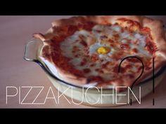 ▶ REZEPT: Pizzakuchen - Pizza mal anders | Auflauf, Kuchen, Potpourri - YouTube