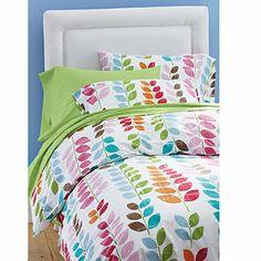Shady Leaf Percale Bedding