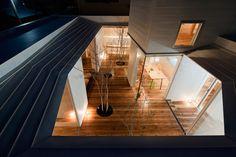 Kazuhiko Kishimoto: ciel receveur maison
