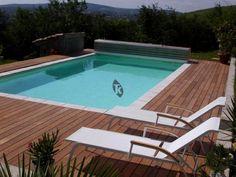 les 17 meilleures images du tableau terrasse bois et piscine sur pinterest. Black Bedroom Furniture Sets. Home Design Ideas