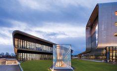 Vacheron Constantin Headquarters by Bernard Tschumi Architects in Geneva. Photo © Peter Mauss/Esto