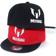 sports shoes c2f7b 79ded High Quality Football cap MESSI Baseball Caps Boys Girls Kids Children hat  Adjust Soccer Messi Snapback Hip Hop Hat