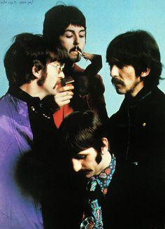 Fabs take a break 1967
