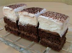 Nassoló: Habos kakaós krémes süti