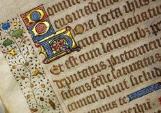 F3699_detail.jpg Collection Spotlight for April: Illuminated leaf from a book of hours, ca. 1450