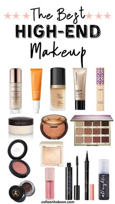 Das beste High-End-Make-up – Holy Grail-Produkte – Colleen Hobson - Top MakeUp Trends 2020 Best High End Makeup, High End Makeup Brands, Best Makeup Brands, Must Have Makeup Products, Glam Makeup, Skin Makeup, Makeup Cosmetics, Glamorous Makeup, Beauty Makeup