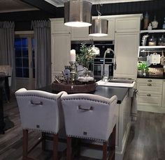 Beautiful kitchen by Check out by Decor, Outdoor Furniture Sets, Interior Inspiration, Interior, Kitchen, Home Decor, Outdoor Decor, Beautiful Kitchens, Furniture