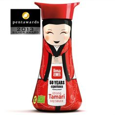 Tamari soy sauce packaging - Art & Design
