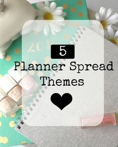 Come check out my newest blog post! These last few weeks I have really gotten into planners. I love the freedom of creativity when it comes to decorating the weekly spreads. This is my first planner to decorate the so I have been coming up with different themes for each week. Here are 5 planner themes to help you out!
